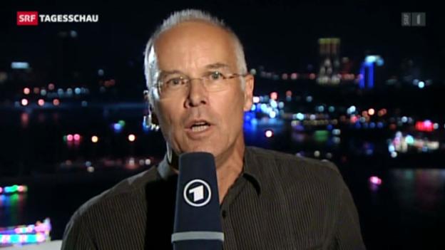 Video «Einschätzungen von ARD-Korrespondent Stefan Maier.» abspielen