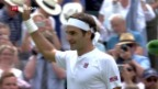 Video «Federer siegt in Wimbledon» abspielen