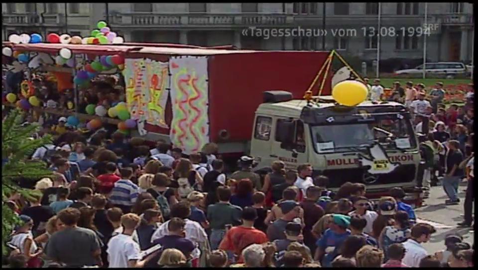 1994: «Zürich im Technofieber!»