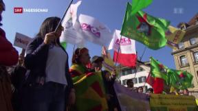 Video «Anti-Erdogan-Kundgebung in Bern» abspielen