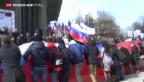 Video «Ein Jahr nach Krim-Krise» abspielen