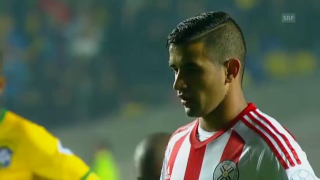 Video «Fussball: Elfmetertore Derlis Gonzalez» abspielen