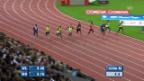 Video «Leichtathletik: Weltklasse Zürich, 100 m Männer» abspielen