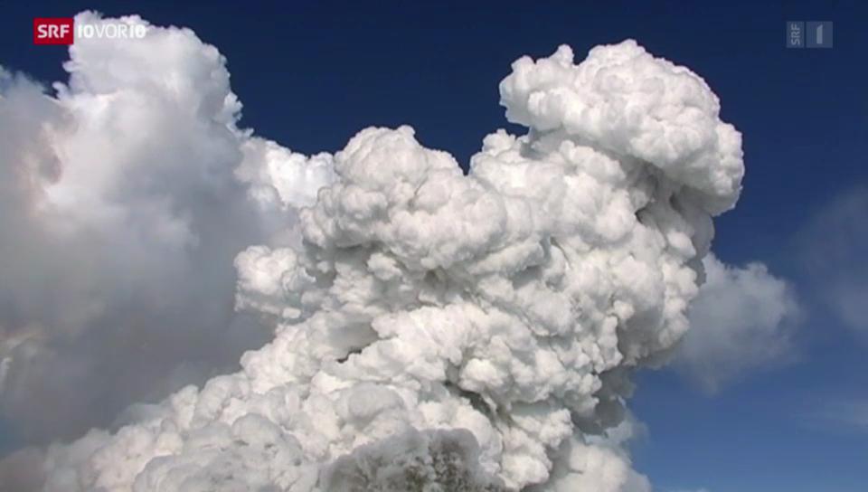 Notfallpläne bei Vulkanausbruch
