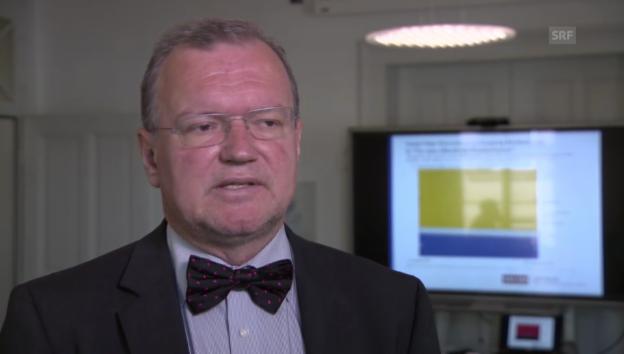 Video «Claude Longchamp: «Die Skepsis gegenüber Krankenkassen ist in lateinischer Schweiz grösser»» abspielen