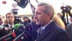 Video «Wulff bestreitet Vorwürfe vor Gericht» abspielen