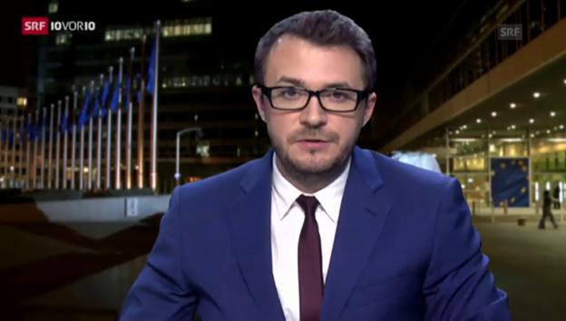 Video «SRF-Korrespondent Ramspeck: «Riesenüberraschung nicht ausgeschlossen»» abspielen