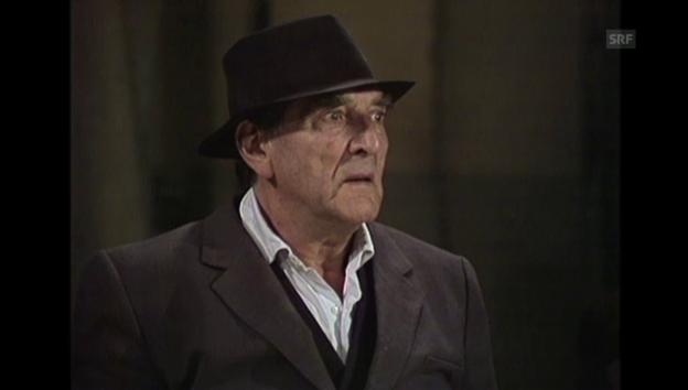 Video «Ausschnitt «Warte uf de Godot», 1.1.1990» abspielen