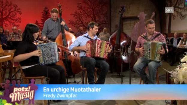 Video «En urchige Mouthataler - Fredy Zwimpfer» abspielen