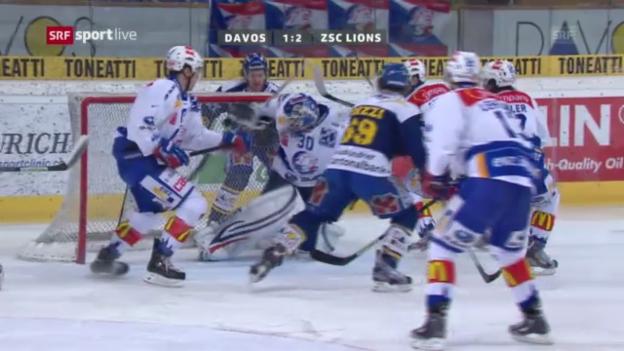 Video «NLA: Viertelfinal Davos - ZSC Lions» abspielen