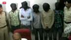 Video «Indien: Lebenslanger Haft für Vergewaltiger von Schweizerin» abspielen