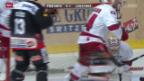 Video «Eishockey, NLA: Fribourg - Lausanne» abspielen