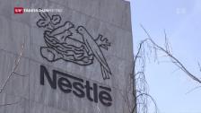 Video «Nestlé kann Preise kaum steigern» abspielen