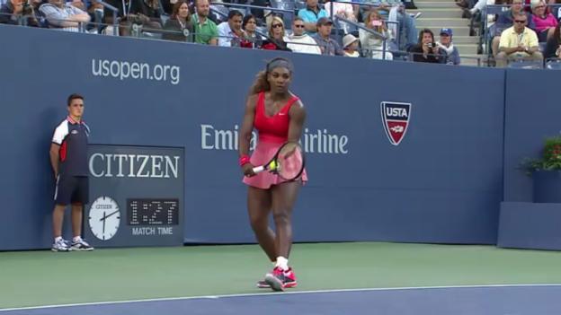 Video «Highlights Williams - Li («sportaktuell»)» abspielen