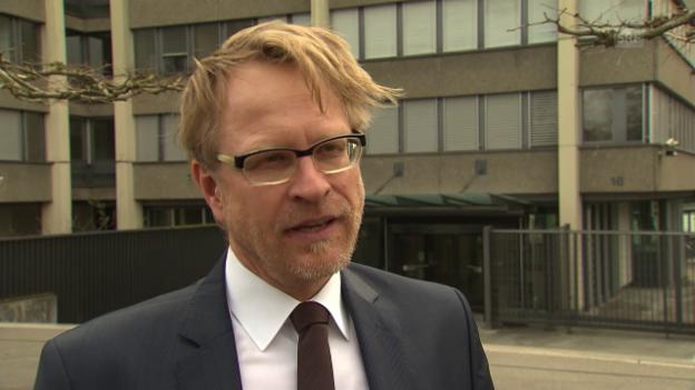 Video «André Marty, BA, zum Strafverfahren wegen Spionage» abspielen