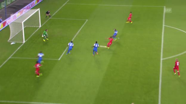 Video «Fussball: Genk - Thun» abspielen