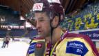 Video «Eishockey, Spengler Cup: Servette-Captain Bezina nach dem Final («sportlive», 31.12.13)» abspielen