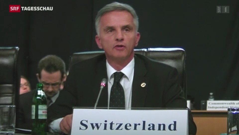 Burkhalter übernimmt Vorsitz der OSZE