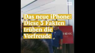 Video «3 Gründe, sich nicht auf das neue iPhone zu stürzen» abspielen