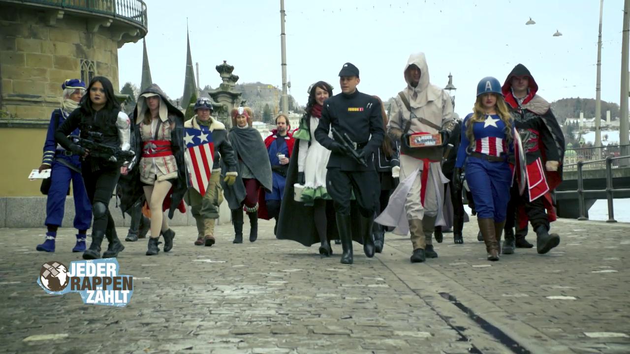 Wenn Superhelden sammeln...