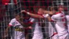 Video «Sion schlägt Thun dank einem späten Tor mit 2:1» abspielen