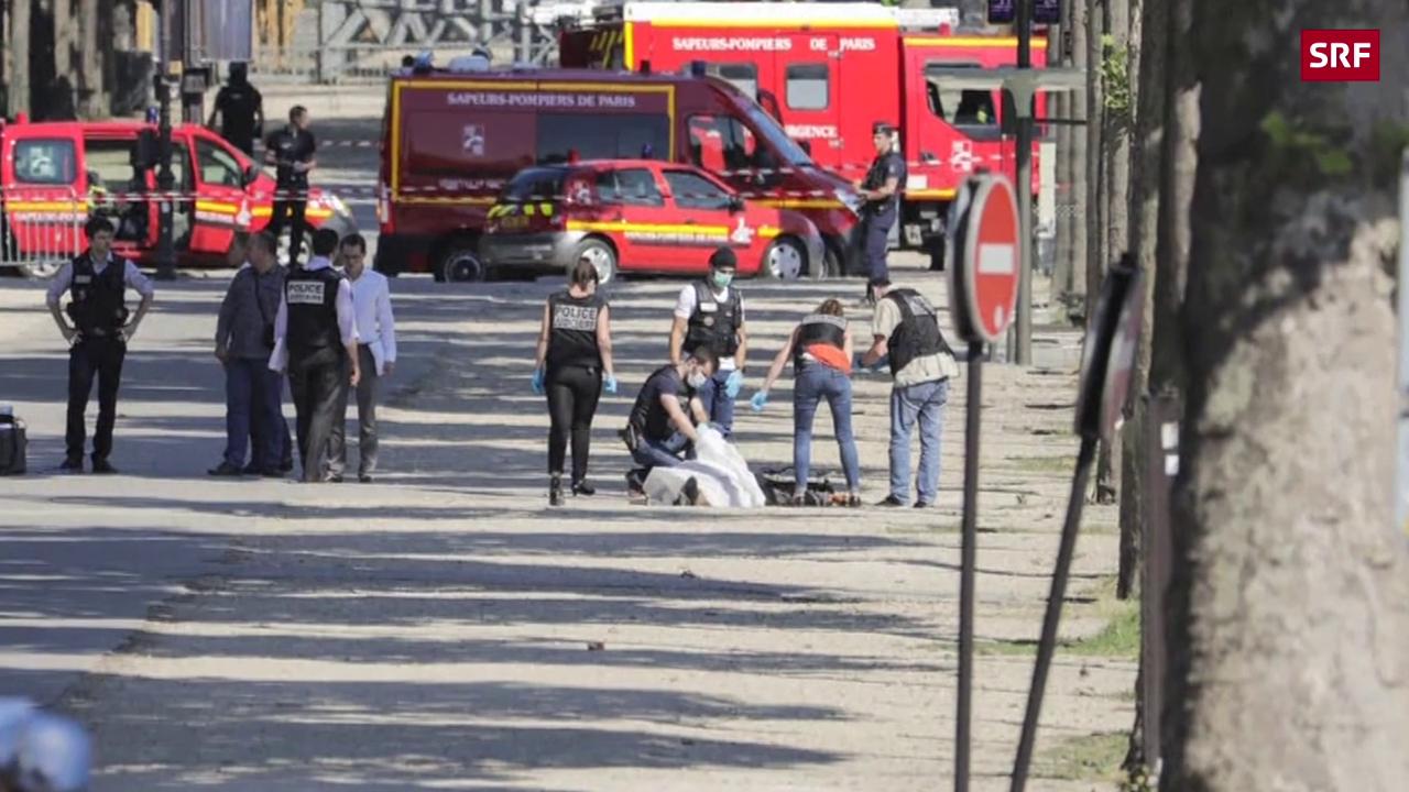 Polizei stoppt Angreifer