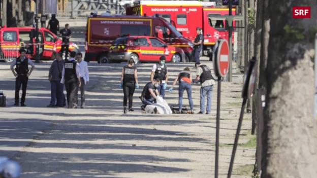 Video «Polizei stoppt Angreifer» abspielen