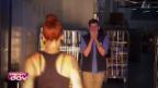 Video «Dominic wird von Stefanie Heinzmann überrascht» abspielen