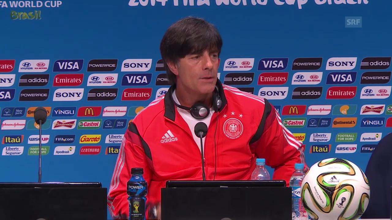 FIFA WM 2014: Löw an der MK vor dem Final, Teil I
