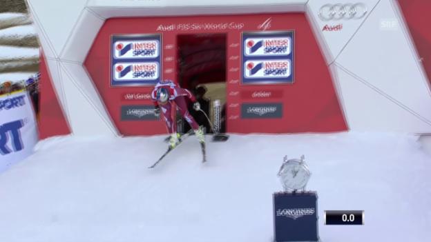 Video «Ski: SG Gröden, Fahrt Svindal» abspielen
