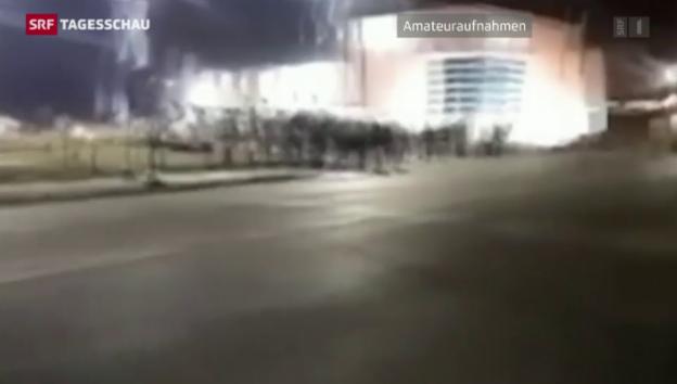 Video «Wieder Gewalt in Ferguson» abspielen
