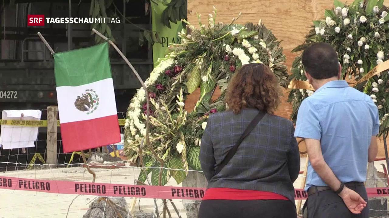 Schäden in Mexiko werden beziffert