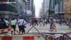 Video «Ultimatum für Hongkongs Demonstranten» abspielen