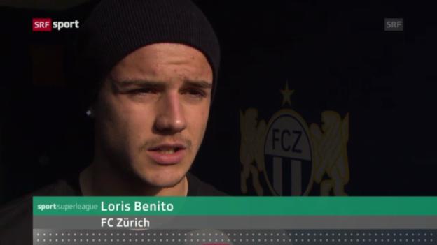 Video «Fussball: News von Benito und vom Marder» abspielen