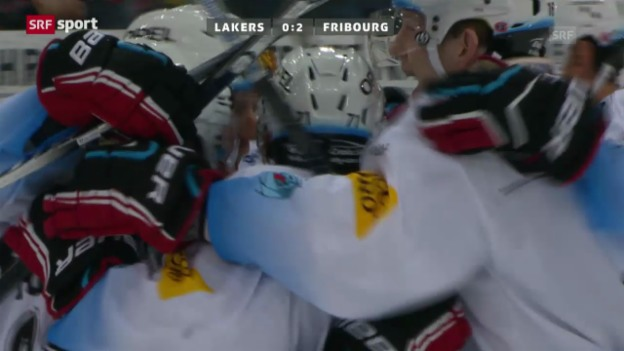 Video «Eishockey: Lakers-Gottéron («sportaktuell»)» abspielen