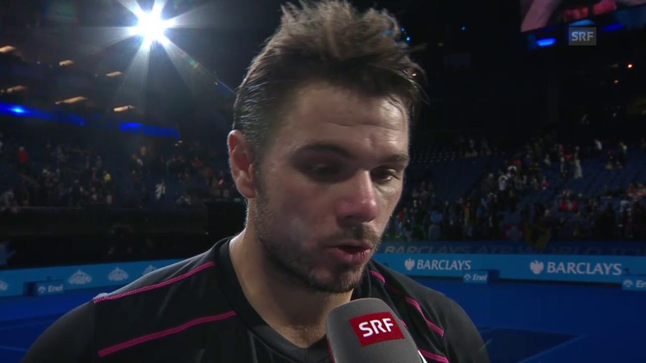 Tennis, ATP Finals: Wawrinka nach Sieg über Murray