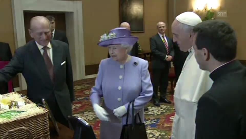 Privatbesuch der Queen beim Papst