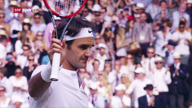 Video «Federer und Co.: Halbzeit in Wimbledon» abspielen