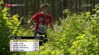Video «Hertner verliert früh die Orientierung – keine Staffelmedaille» abspielen