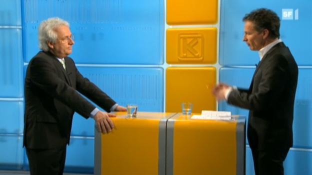 Video «Chef bittet Büezer wegen tiefem Euro zur Kasse» abspielen