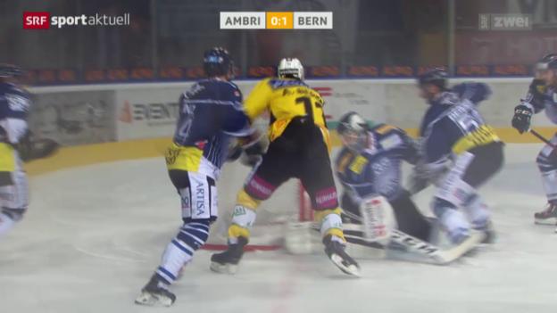Video «Eishockey: NLA, Ambri - Bern» abspielen