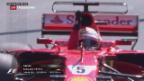 Video «Doppelsieg für Ferrari bei F1-Rennen» abspielen