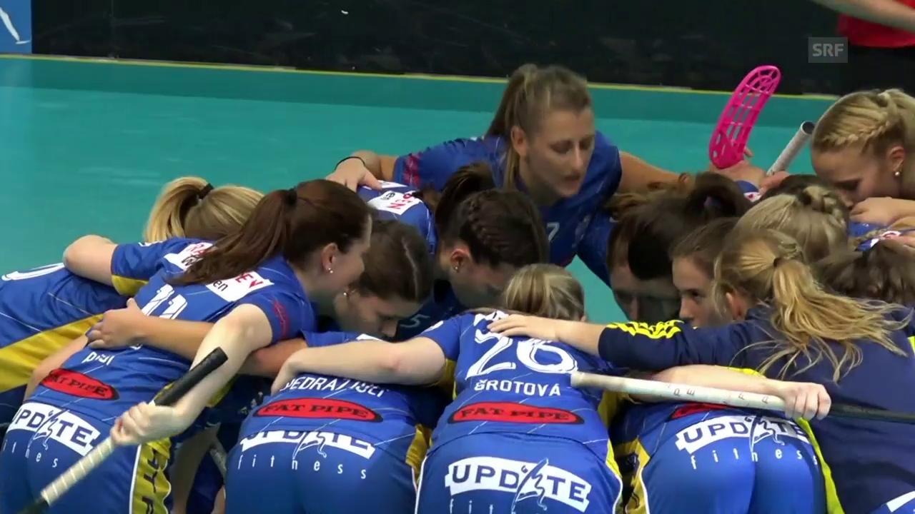 UHC Dietlikon zieht in den Halbfinal des Champion Cups ein