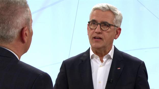 Video «Live: ABB-Konzernchef Ulrich Spiesshofer | Bankgeheimnis» abspielen