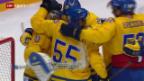 Video «Eishockey: Halbfinal Schweden-Finnland» abspielen