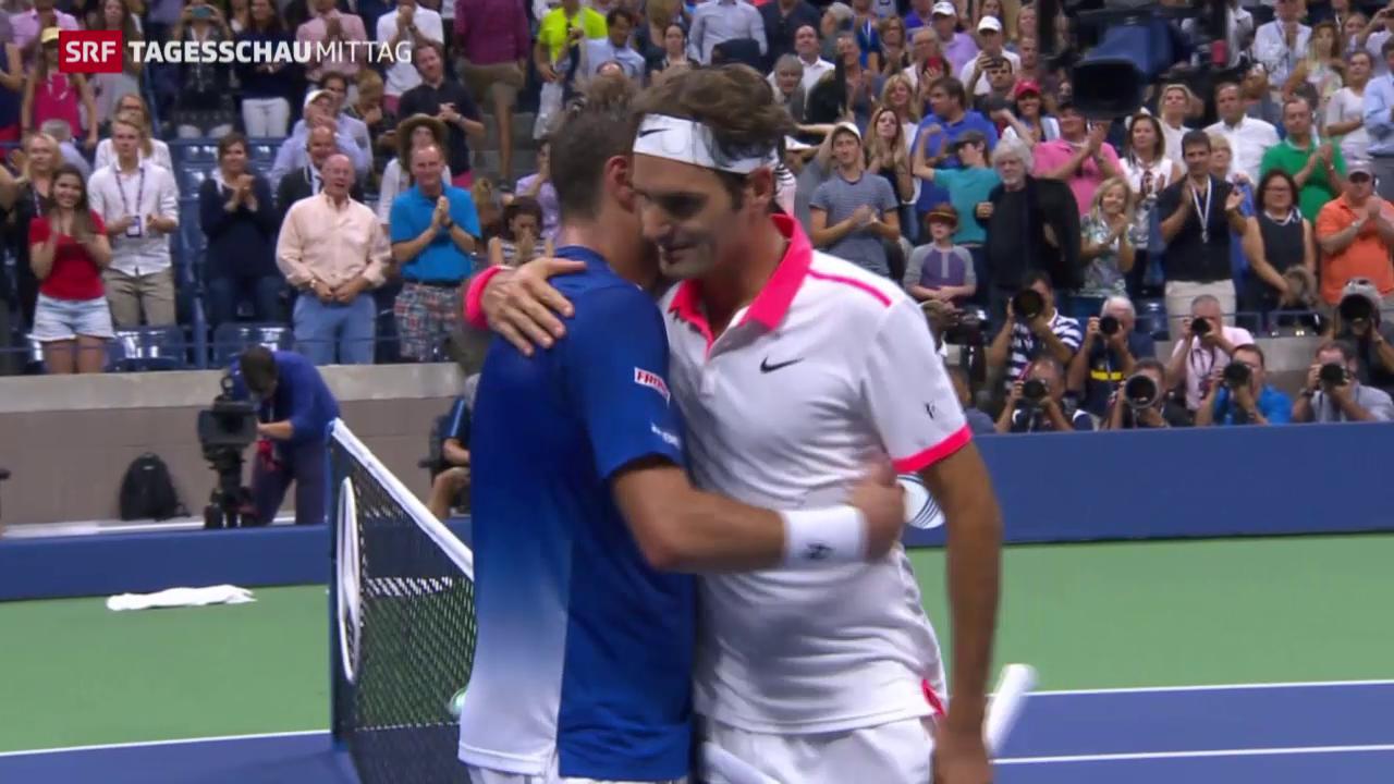 Federer besiegt Wawrinka