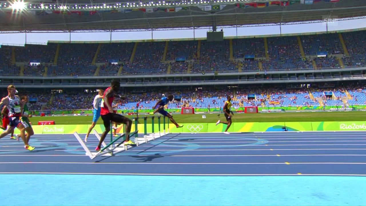 Weltmeister Bett scheitert im Hürden-Vorlauf