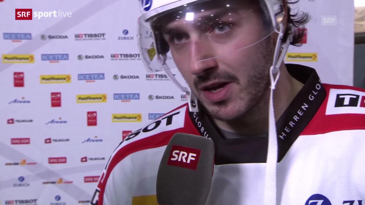 Eishockey: Denis Hollenstein im Interview