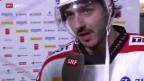 Video «Eishockey: Denis Hollenstein im Interview» abspielen
