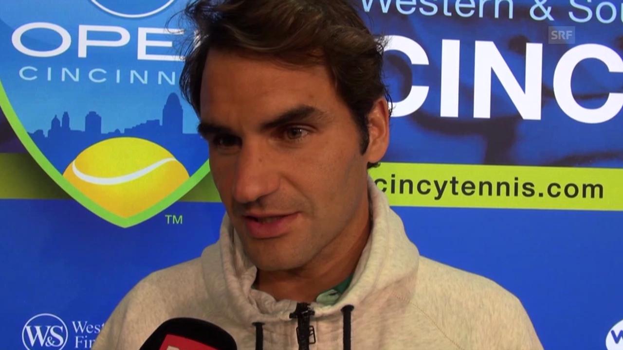 Tennis: Interview mit Roger Federer